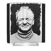 Bill Murray Drawing Shower Curtain Round Beach Towel For By Ursa Davis