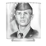 Bill Richards Shower Curtain