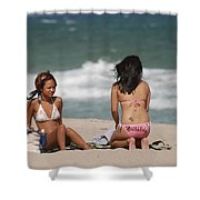 Billabong Girls Shower Curtain
