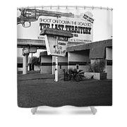 Billboard The Last Territory Tucson Arizona 1987 Shower Curtain