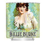 Billie Burke In The Misleading Widow 1919 Shower Curtain
