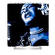 Billie Holiday Shower Curtain