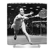 Billie Jean King Shower Curtain