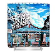 Bill's Drive-in Shower Curtain