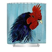 Billy Boy The Rooster Shower Curtain