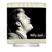 Billy Joel Poster Shower Curtain