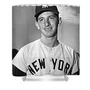 Billy Martin (1928-1989) Shower Curtain