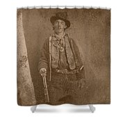 Billy The Kid Shower Curtain