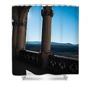 Biltmore Backyard  Shower Curtain