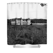Biltmore Mansion Shower Curtain by Michael Tesar