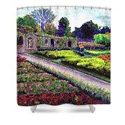 Biltmore Walled Gardens Shower Curtain