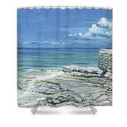 Bimini Blues Shower Curtain