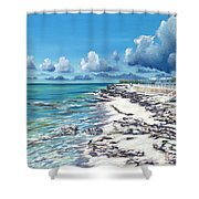 Bimini Breeze Shower Curtain by Danielle  Perry