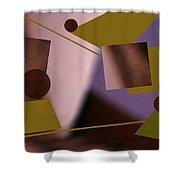 Binary Shower Curtain