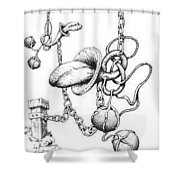 Binding Relationship Shower Curtain
