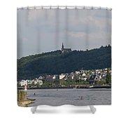 Bingen Germany Shower Curtain