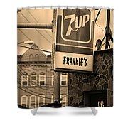 Binghampton New York - Frankie's Tavern Shower Curtain