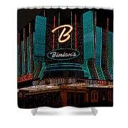 Binions Vegas Shower Curtain