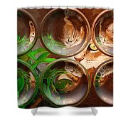 Bink Bubbles Shower Curtain