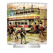 Binns Tram 1 Shower Curtain