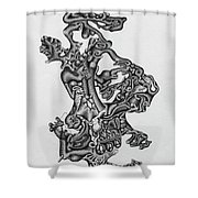Biological Material Shower Curtain