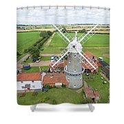 Bircham Windmill Shower Curtain