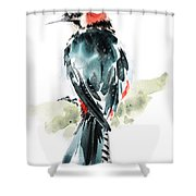 Bird Art Shower Curtain