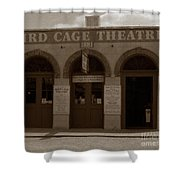 Bird Cage Shower Curtain