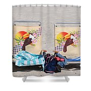 Bird Chairs Shower Curtain