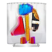 Bird Dude Shower Curtain