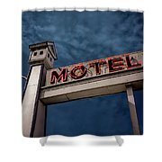 Bird House Motel #2 Shower Curtain