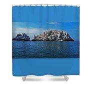 Bird Island 1 Shower Curtain