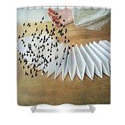 Bird Migration 2 Shower Curtain