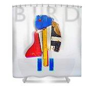 Bird Moderne Shower Curtain