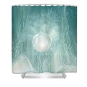 Bird Of Elysian Shower Curtain