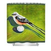 Birdie Time Shower Curtain