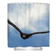 Birds 59 Shower Curtain
