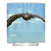 Birds 66 Shower Curtain