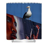 Birds Eye View Shower Curtain