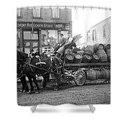 Birk Brothers Brewing Company C. 1895 Shower Curtain