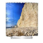 Birling Gap And Seven Sisters Shower Curtain