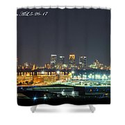 Birmingham Airport ,skyline Shower Curtain