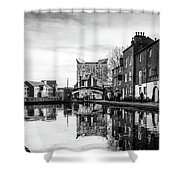 Birmingham Canal Shower Curtain