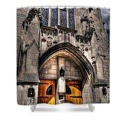 Birmingham Church Shower Curtain