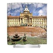 Birmingham City  Town Hall  Shower Curtain