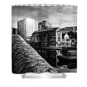 Birmingham Waterway Shower Curtain