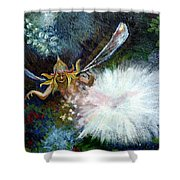 Birth Of A Fairy Shower Curtain