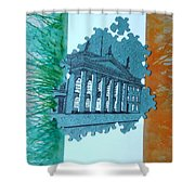 Birth Of A Nation  Shower Curtain
