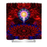 Birth Of The Presence Shower Curtain