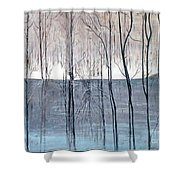 Birth Of The Spring Shower Curtain